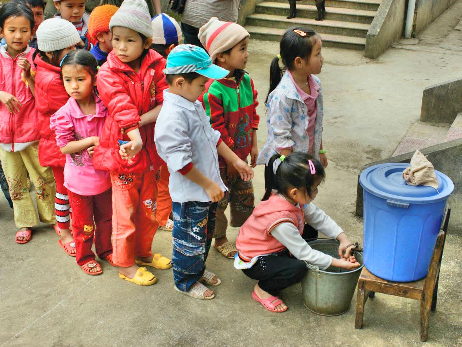 Avant eau à Lung Nguu