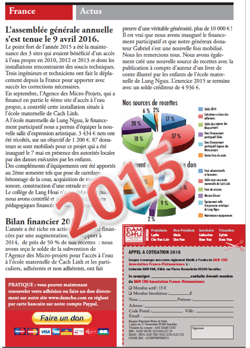 Rapport activité 2015