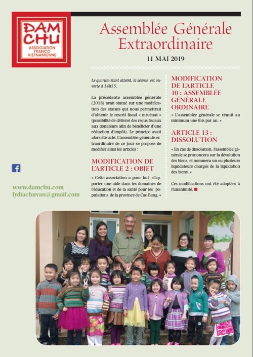 Rapport activité 2014